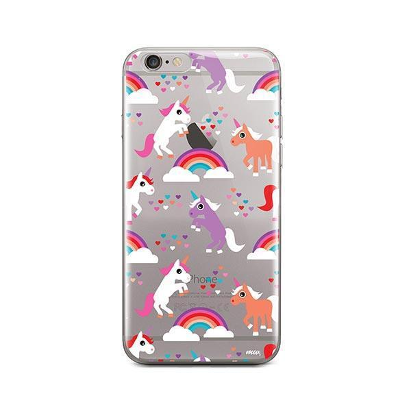 Rainbows and Unicorns iPhone 6 / 6S Case Clear