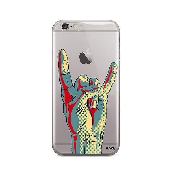 Rock On iPhone 6 / 6S Case Clear