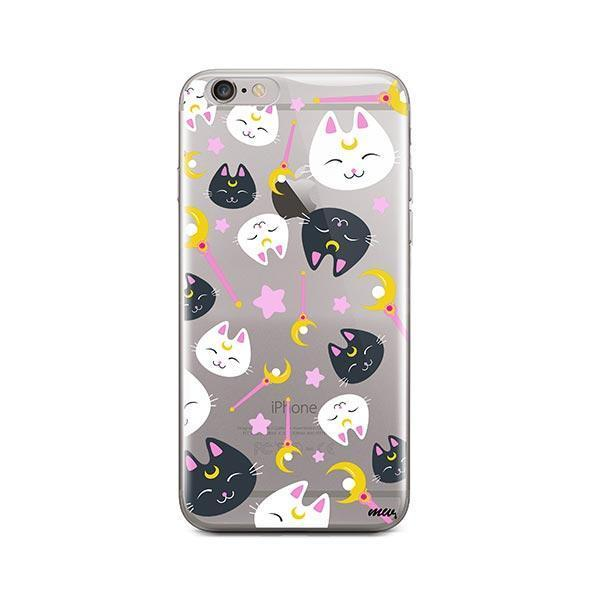 Sailor Kitty - iPhone 6 Plus / 6S Plus Clear Case