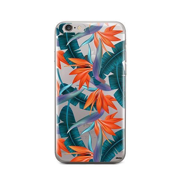 Strelitzia iPhone 6 Plus / 6S Plus Case Clear
