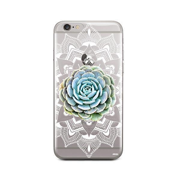 Succulent Mandala iPhone 6 / 6S Case Clear
