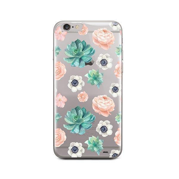 Succulent Overload iPhone 6 Plus / 6S Plus Case Clear