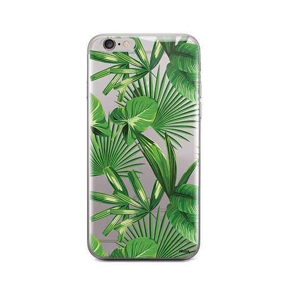 Tropical Palm Leaves iPhone 6 Plus / 6S Plus Case Clear