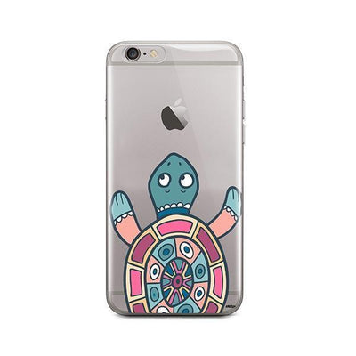 Turtle - iPhone Clear Case