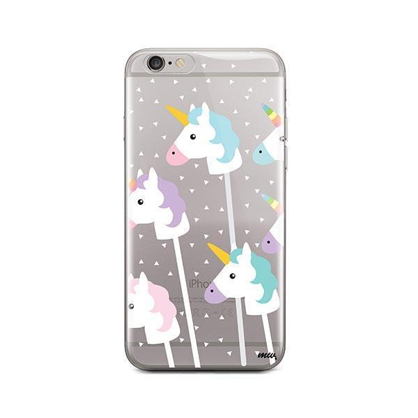 Unicorn Pops iPhone 6 / 6S Case Clear