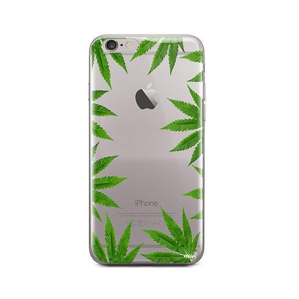 Weed Frame iPhone 6 / 6S Case Clear