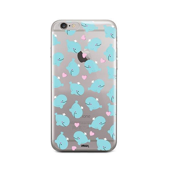 Whale Tale - iPhone 6 / 6S Case Clear