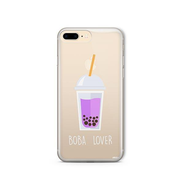 Boba Lover iPhone 8 Plus Case Clear