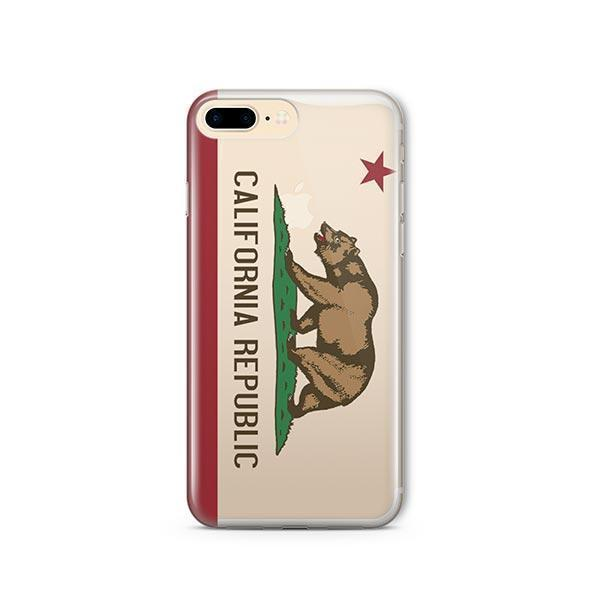 California Republic iPhone 7 Plus Case Clear