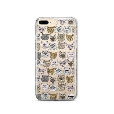Cat Overload 2 - iPhone Clear Case