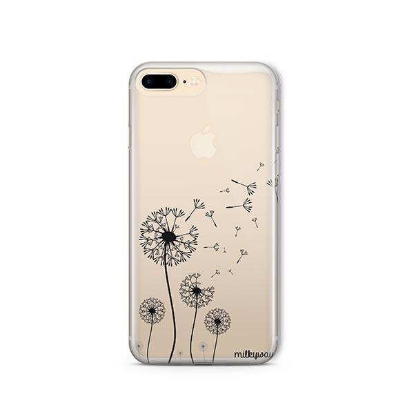 Dandelion iPhone 7 Plus Case Clear