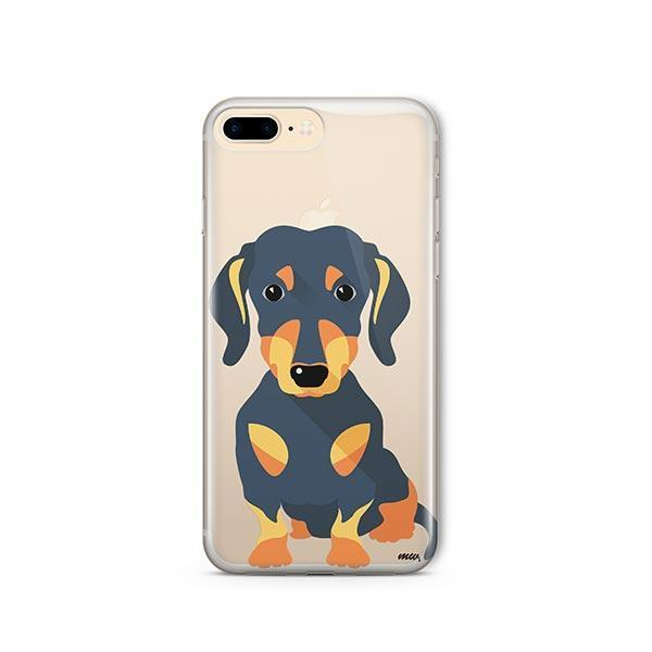 Doxie - iPhone 8 Plus Clear Case