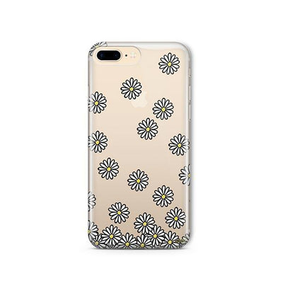Falling Daisies - iPhone Clear Case