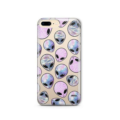 Gala8y People - iPhone Clear Case