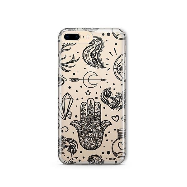 Gypsy Style iPhone 8 Plus Case Clear