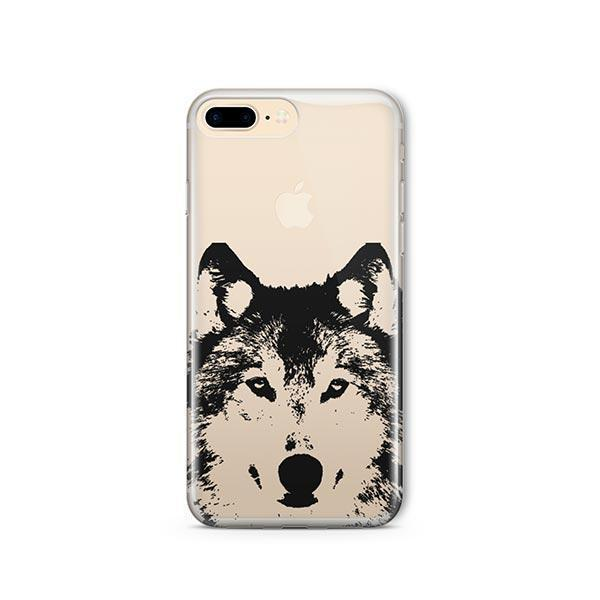 Henna Wolf - iPhone 7 Plus Case Clear