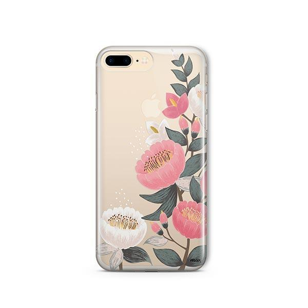 Laurel Floral iPhone 7 Plus Case Clear