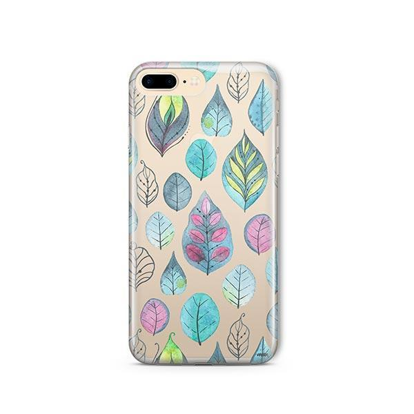 Leaves iPhone 7 Plus Case Clear