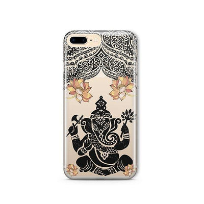 Lotus Ganapati Ganesh - iPhone Clear Case