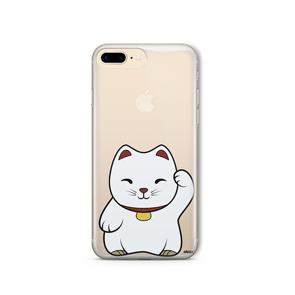 Lucky Cat - iPhone 8 Plus Clear Case