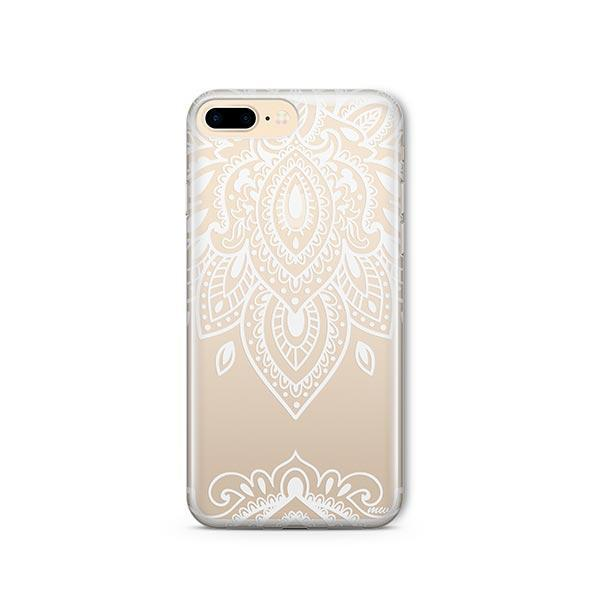 Sanskrit Mandala iPhone 7 Plus Case Clear