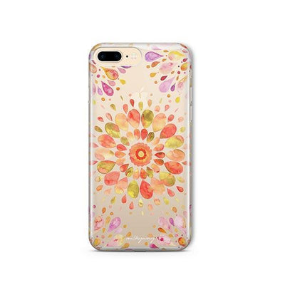 Summer Mandala - iPhone Clear Case