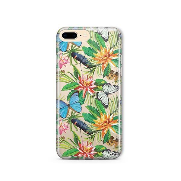 Tropical Butterfly iPhone 7 Plus Case Clear