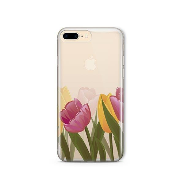 Tulips iPhone 7 Plus Case Clear
