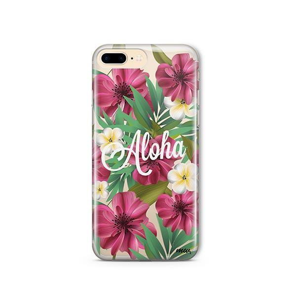 Aloha 2.0 iPhone 8 Plus Case Clear