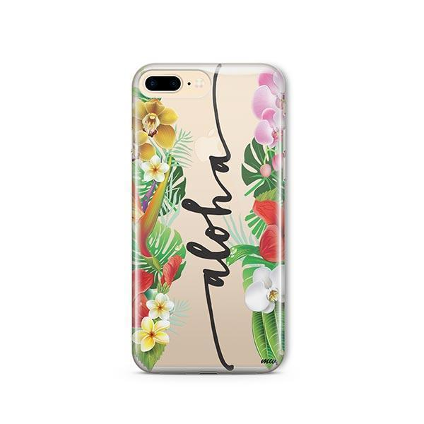 Aloha iPhone 7 Plus Case Clear