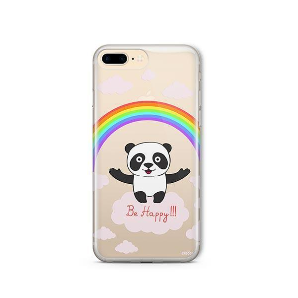 Be Happy iPhone 8 Plus Case Clear