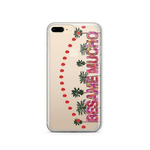 Besame Mucho iPhone 8 Plus Case Clear
