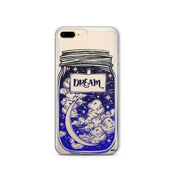 Blue Dream iPhone 8 Plus Case Clear