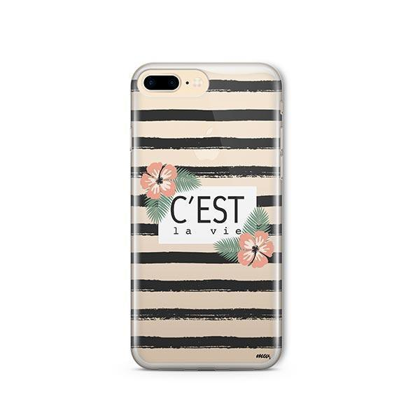 C'est La Vie iPhone 8 Plus Case Clear