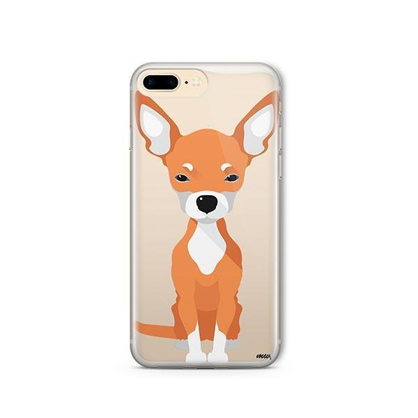 Chihuahua - iPhone 8 Plus Clear Case