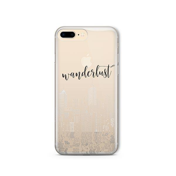 City Wanderlust iPhone 8 Plus Case Clear