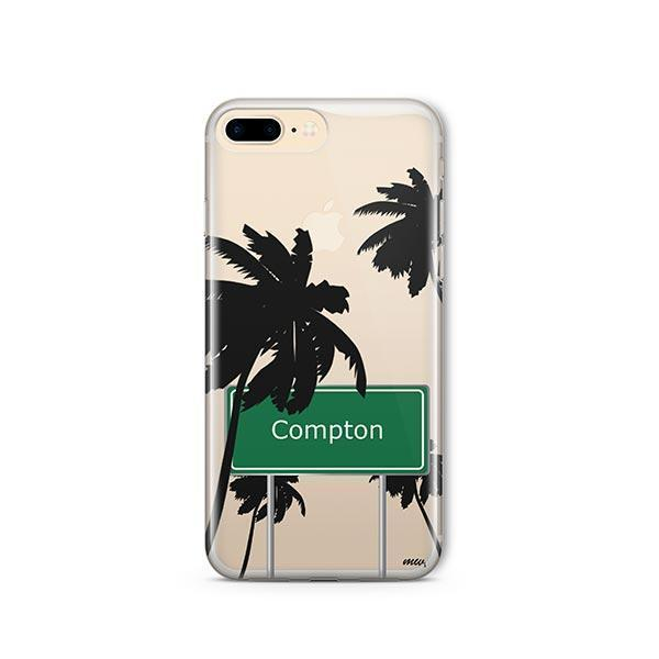 Compton iPhone 7 Plus Case Clear