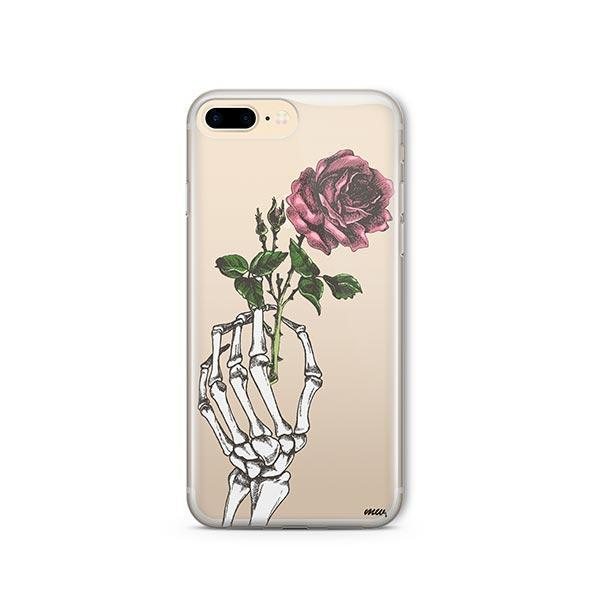 Crane Rose iPhone 8 Plus Case Clear