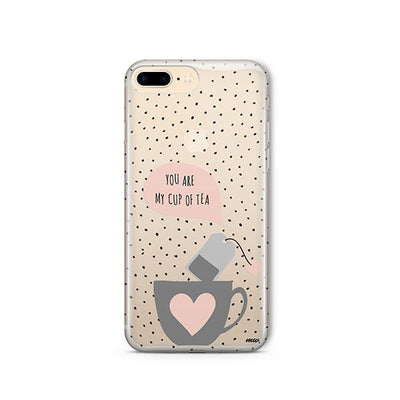 Cup Of Tea - Clear TPU - iPhone Case