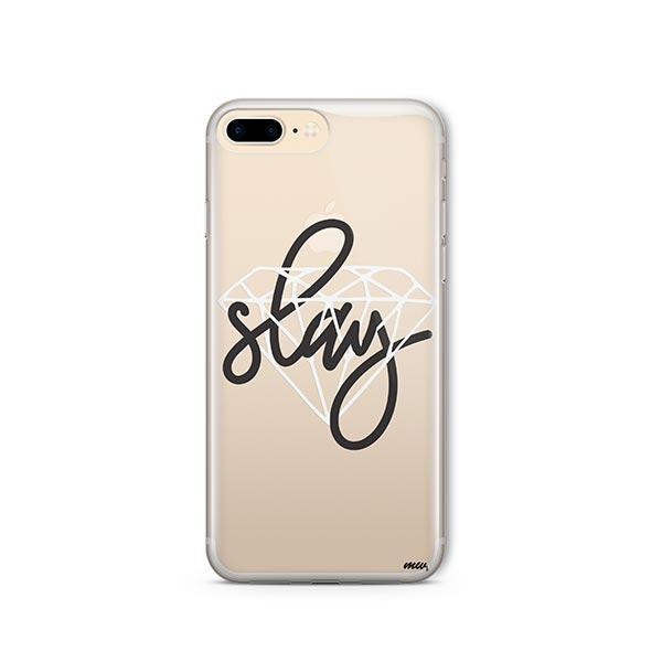 Iced Slay iPhone 8 Plus Case Clear