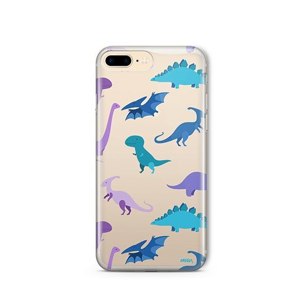 watch e9537 f4999 Dino Time iPhone 7 Plus Case Clear
