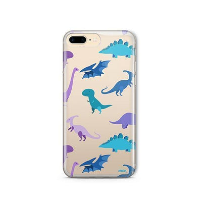 Dino Time - Clear TPU - iPhone Case
