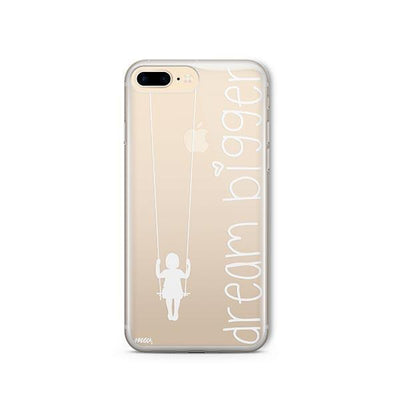 Dream Bigger - iPhone Clear Case