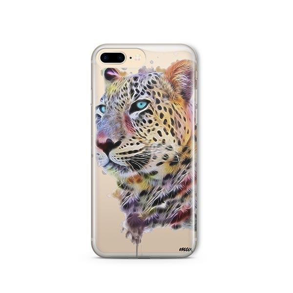 new product 09469 4e058 Dripping Leopard - iPhone 8 Plus Case Clear