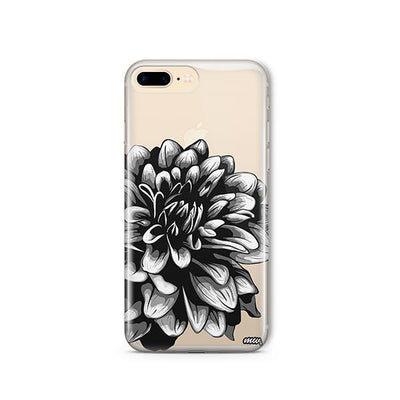 The Black Dahlia - iPhone Clear Case
