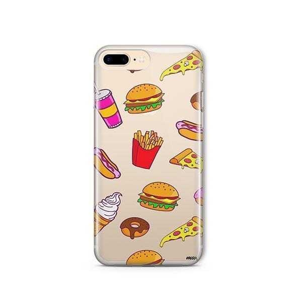 Fast Food iPhone 8 Plus Case Clear