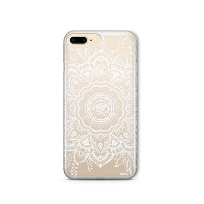 Henna Floral Eye - iPhone Clear Case
