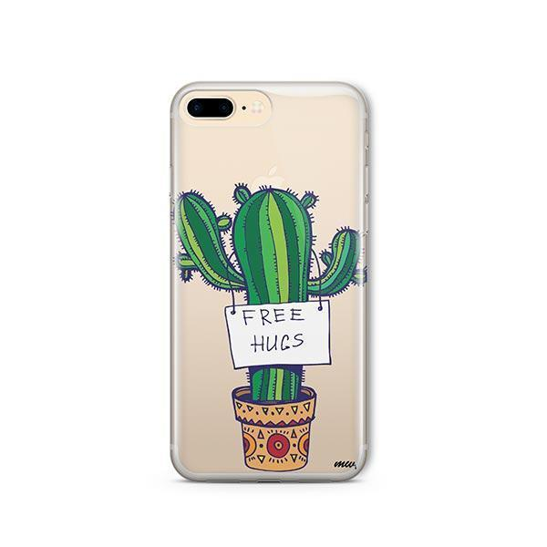 Free Hugs iPhone 7 Plus Case Clear