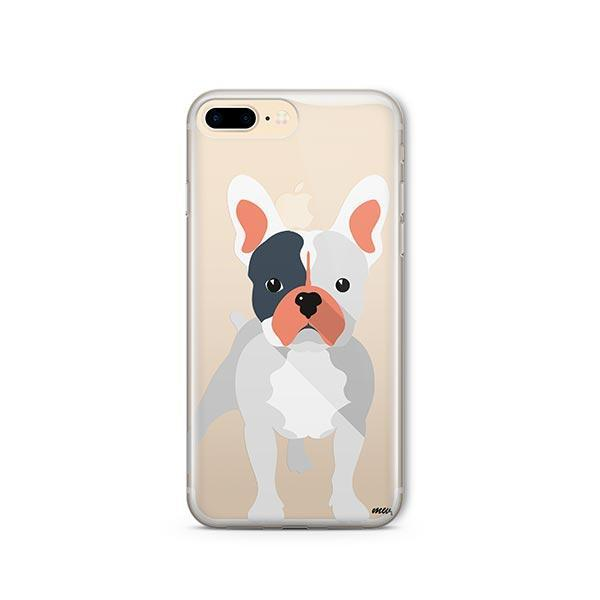 French Bulldog - iPhone 8 Plus Clear Case