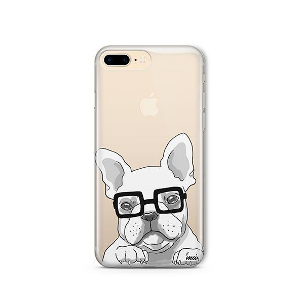 The Frenchie - iPhone 8 Plus Clear Case